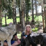 Teri Wilson 'Dances with Wolves' for Her January 2016 Novel, ALASKAN SANCTUARY