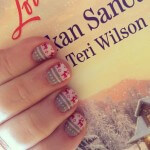 Reindeer sweater nail art! ‪#‎nailart‬ ‪#‎alaskansanctuary‬ ‪#‎loveinspiredbooks‬