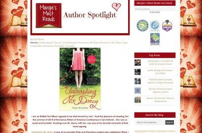 An Interview with Teri Wilson at Margie's Must Reads