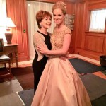"Counting down to the premiere of Unleashing Mr. Darcy...gorgeous Cindy Busby with the amazing Frances Fisher. Cindy plays Elizabeth and Frances is Mr. Darcy's ""challenging"" aunt. Love these two wonderful women. (And how about those costumes??! Perfection.) ‪#‎UnleashingMrDarcy‬ ‪#‎22days‬"